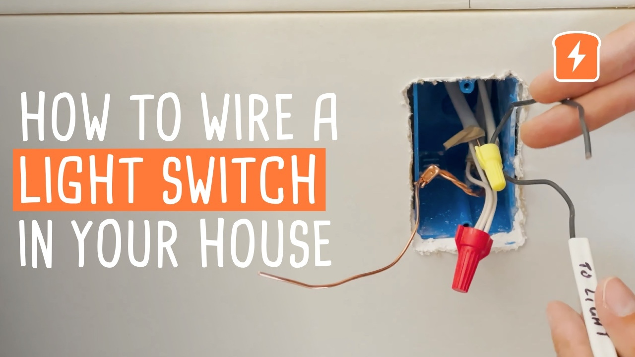 How to Wire a Light-Switch